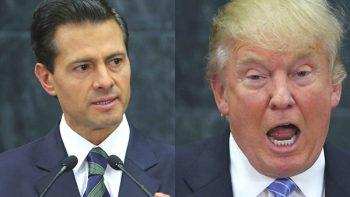 México no pagará el muro, dice EPN a Trump