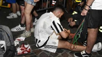 Estampida deja 30 heridos en Turín durante final de la Champions