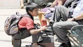Trabajan 1.7 millones de niños en México, indica Inegi