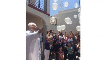 Misa y globos al cielo, en memoria de víctimas de Guardería ABC