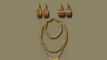 Exponen en Grecia los milenarios tesoros de Troya