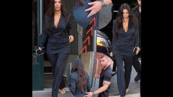 Guardaespaldas 'sabrosea' a Kim