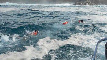 Mantienen alerta por Mar de Fondo en Costa de Guerrero