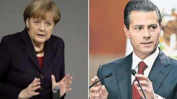 Diálogo político y comercial, principales temas entre Peña y Merkel