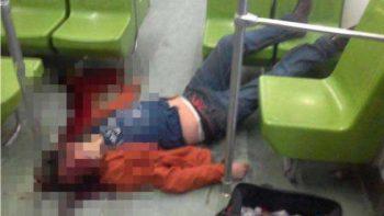 Muere al asomarse por ventana del Metro y golpearse con letrero