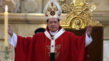 Norberto Ribera encabeza ceremonia de Jueves de Corpus