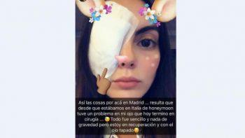 Operan a Ximena Navarrete durante su luna de miel