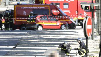 Muere presunto terrorista en Campos Elíseos de París