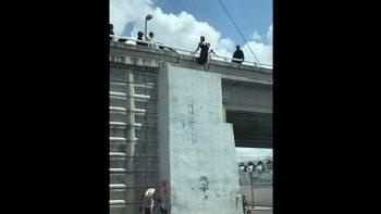 Intento de suicidio en Puente Broncos
