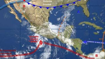 Depresión tropical se intensifica a tormenta tropical Dora