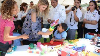 Conmemoran Gobierno e instituciones educativas Día Mundial del Medio Ambiente