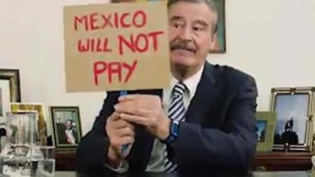 Vicente Fox vuelve a hacer `bullying´ a Donald Trump