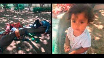 Mientras sus padres drogados dormían, su hija lloraba de hambre junto a ellos