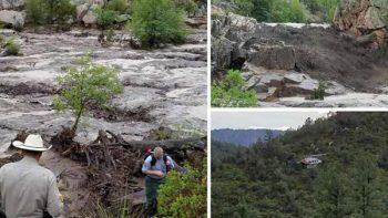 Uno de los diez muertos por alud en Arizona es de Guanajuato