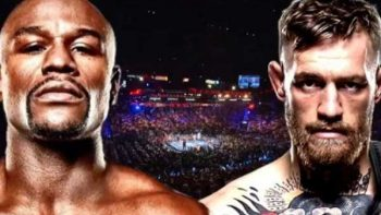 Con amenazas cierran Floyd Mayweather Jr y Conor McGregor gira promocional