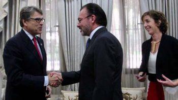 Luis Videgaray se reúne con secretario de energía de EU