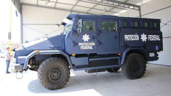Vehículo blindado 'Mamut', listo para traslado seguro de delincuentes peligrosos