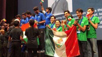 México, tercer lugar en Olimpiada Mundial de Robótica