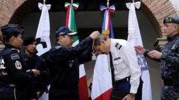 Policía Federal reconoce labor de Gendarmería Francesa