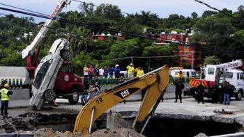 Víctimas de socavón murieron por asfixia, revela peritaje