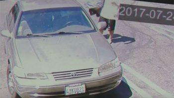 Bebé de 16 días de nacido es abandonado por su padre en California (VIDEOS)