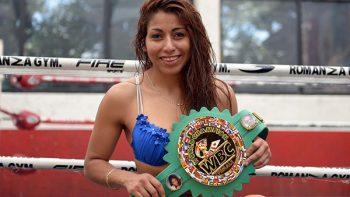 Boxeadora 'Kika' Chávez lista para enfrentar a 'Joya' Moreno