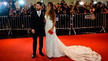 La boda de Lionel Messi paralizó la Argentina