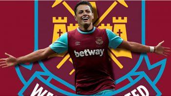 Oficial, 'Chicharito' nuevo jugador del West Ham United