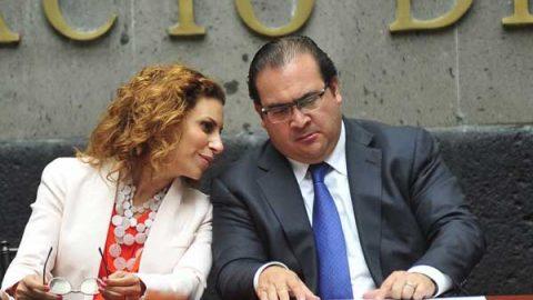 Karime Macías, esposa de Duarte, busca saber si es investigada o no