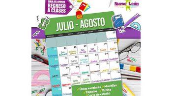 Realizará Nuevo León la Feria del ahorro 'Regreso a clases 2017'
