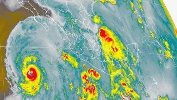 Aumenta intensidad huracán Eugene, ya es categoría 3