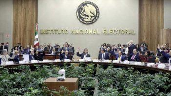 INE reanuda debate sobre fiscalización