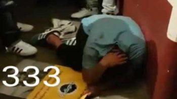 Presuntos 'justicieros' golpean a sujeto por robar en barrio de CDMX