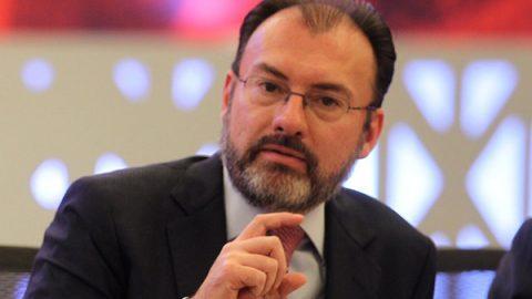 Videgaray pide no confundir elogios a Meade con decisiones políticas