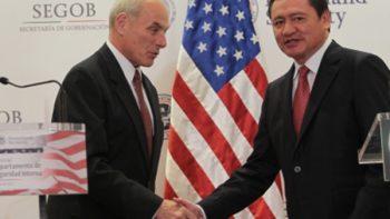 México y EUA analizan nuevas estrategias conjuntas contra tráfico de armas y drogas