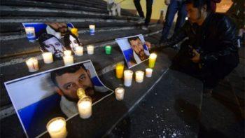 Exigen justicia por muerte del periodista Rubén Espinosa, en Veracruz
