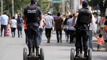 Policías en México ganan en promedio 31 pesos por hora