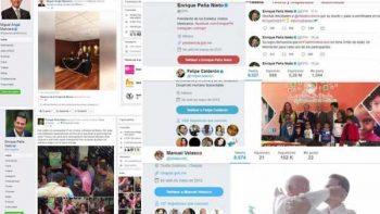 La fuerza de los políticos en las redes sociales