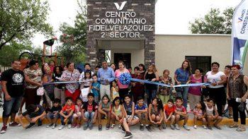 Remodelan de centro comunitario y plaza pública en San Nicolás