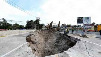 Se determinarán responsabilidades por tragedia en el socavón en Paso Exprés