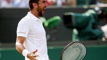 Tenista Marin Cilic llega a su primera final en Wimbledon