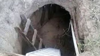 Hallan túnel inconcluso con dirección al penal de Reynosa