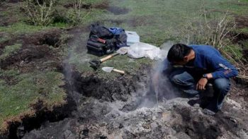 Descarta Segob formación de volcán en Michoacán
