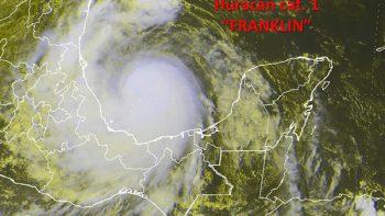 'Franklin' ya es huracán