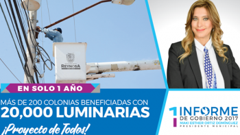 La doctora Maki Ortíz invita al primer informe de actividades