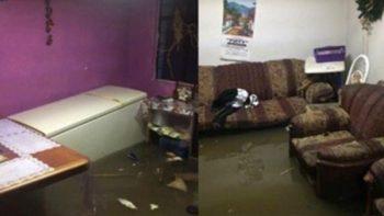 Reportan al menos 315 casas inundadas por lluvias en Edomex