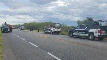 Fallecen dos policías estatales tras accidente en Reynosa