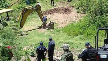 Localizan fosa clandestina con dos cadáveres en Tlapa, Guerrero
