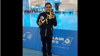 Gana Arantxa Chávez tercer oro en Universiada