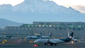 Crece tráfico de pasajeros en aeropuertos de México